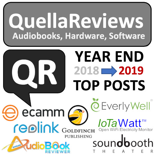 2018 Year in Review on QuellaReviews